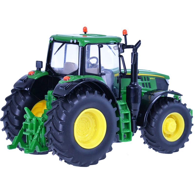 britains 132 john deere 6195m tractor toy collectable