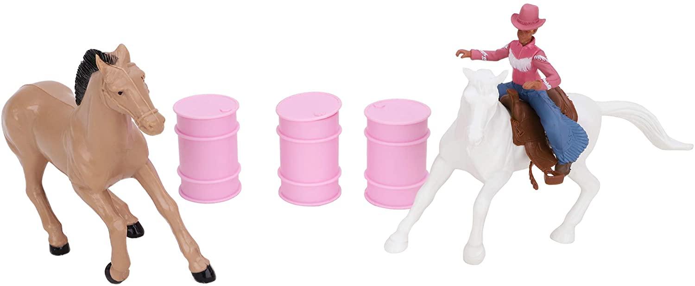 Cheval Toy Playset Figure /& accessoires-BT170-stable 12 cm x 10 cm